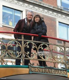Neil Giraldo and Pat Benatar attend the 89th Annual Macy's Thanksgiving Day Parade on November 26, 2015 in New York City.