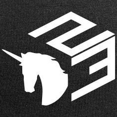 unicorntekk logo - Czapka krasnal z dżerseju