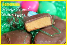Six Sisters' Stuff: Homemade Reese's Eggs