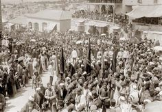 Early 1900s Demonstration in Jaffa   Community Post: 31 Unbelievable Photographs Israel Doesn't Want You To See!