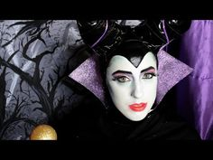 Maleficent Makeup Tutorial - YouTube