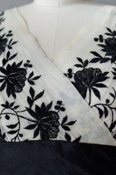 1950s dress / silk 50s party dress / Petrouchka