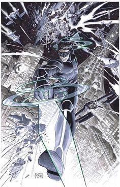 Superhero Characters, Dc Comics Characters, Dc Comics Art, White Lantern Corps, White Lanterns, Comic Books Art, Comic Art, Kyle Rayner, Weavers Art