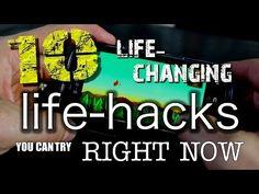 10 Amazing & Life-Changing Life Hacks! - YouTube