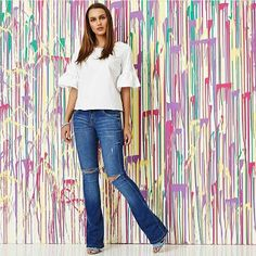 Closet Lit: Jeans Flare Rips! #closetlit