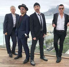 U2 the ulitimate boyband!!!!