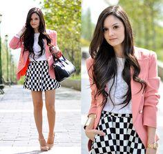 …Chessboard Skirt…