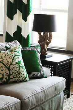green + grey + black + white  #green #windows
