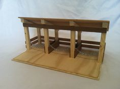 Check out this item in my Etsy shop https://www.etsy.com/listing/261056360/wooden-toy-barn-stable