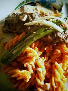 beef in pasta
