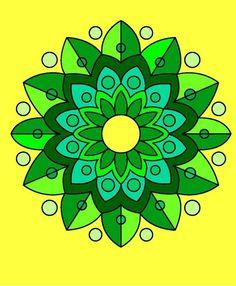 Mandalas coloreados fáciles - Mandalaweb Mandala Art, Oriental, Mandala Coloring, Zentangle, My Little Pony, Beautiful Pictures, Images Of Drawings, Colors, Manualidades