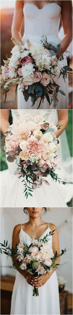 Stunning Wedding Bouquet Ideas #wedding #weddingflowers #weddingbouquets