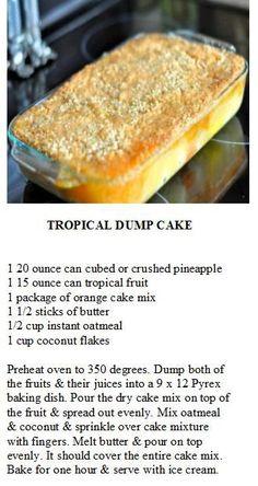 Texas dump cake recipes easy