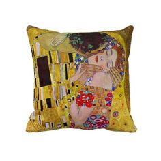 I guess Klimt is art nouveau :3 And this pillow is also a MUST-buy