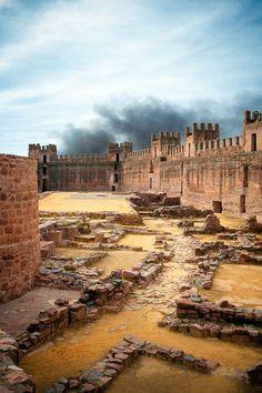 Castillo de Burgalimar, Baños de la Encina, Jaén, Spain
