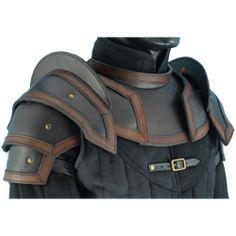 Leather Pauldrons