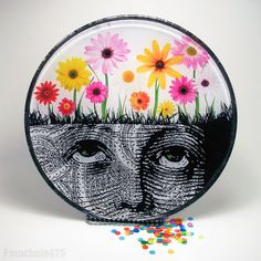 Decoupage glass plate from Parachute425                              …