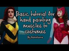 A quick video explaining how I paint my muscles and body tones to my costumes using acrylic paint. Cosplay Diy, Using Acrylic Paint, Teen Titans, Body Painting, Beast Boy, Hand Painted, Costumes, Muscles, Supreme