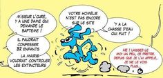 BON COURAGE MONSIEUR LE CURÉ !