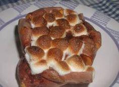 Texas Roadhouse Style Baked Sweet Potato