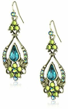 Antiquities Couture Victorian Garden Teal Wire Drop Earrings Antiquities Couture. $42.00. Made in the U.S.A. Made in USA