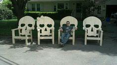 Skull Adirondack Chairs                                                                                                                                                                                 More