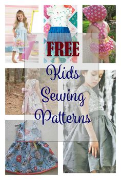 FREE Sewing Patterns for Kids - My Handmade Space