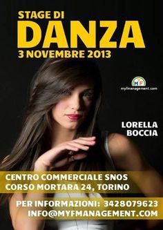 Stage gratuito con Lorella Boccia « weekendinpalcoscenico la danza palco e web | IL PORTALE DELLA DANZA ITALIANA | weekendinpalcoscenico.it