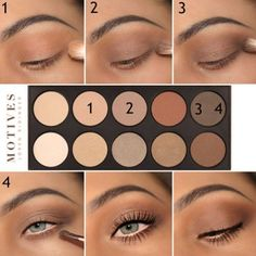 There is nothing more versatile than eye makeup. Are you one of those who thinks that knows nothing about makeup? Then you have come to the right place!#makeup #makeuplover #makeupjunkie #makeuptutorials