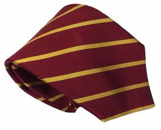 Jos. A. Bank Silk Necktie Burgundy Red Yellow Repp Striped Woven 60 by 3.5 Inch #JosABank #NeckTie