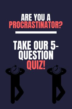 Everybody has some degree of procrastination. Find out how much you procrastinate, by taking our QUIZ! How To Become, How To Get, How To Plan, Work Productivity, Live With Purpose, Time Management Skills, How To Stop Procrastinating, Getting Things Done, This Or That Questions