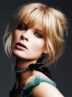 Updo Hairstyles with Bangs. 30 Luxury Updo Hairstyles with Bangs. Cute Updo Hairstyles with Side Swept Bangs Hair Good Hair Day, Great Hair, Hairstyles With Bangs, Pretty Hairstyles, Bangs Updo, Blonde Hairstyles, Fringe Hairstyles, How To Cut Bangs, Hair Fixing