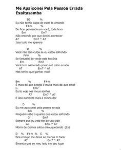 Cavaquinho Meu Dom: Exaltasamba Ukulele, Banjo, Sheet Music, Musicals, Pasta, Gospel Song Lyrics, Lyrics And Chords, Music Guitar, Music Classroom