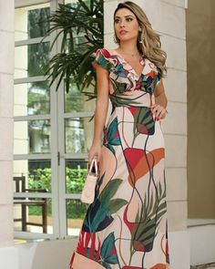 Discover the latest women's, men's and kids' fashion online Indian Maternity Wear, Modest Wear, Dress Patterns, Spring Outfits, New Dress, Designer Dresses, Nice Dresses, Wrap Dress, Fashion Dresses