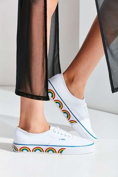 Vans Authentic Rainbow Sole Sneaker | OH MY GOD! Shoes