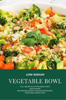 Lemon Vegetable Bowl Diet Salad Recipes, Dash Diet Recipes, Vegetarian Recipes, Organic Brown Rice, Garlic Cloves Minced, Miso Dressing, Vegetable Bowl, Kimchi, Wok
