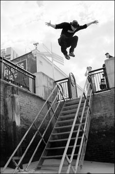 """parkour is my life it's my sport and my way of living when people see walls they think """"oh hey a wall"""" while i think """"wonder if i could get over that"""""""