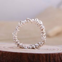 Christmas Sales Fashion Silver Rings Wire by JimHandmadeCraft