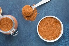 Use this recipe method to make your own Cajun seasoning blend at home from scratch, with your own preferred ingredients. Includes an ingredient chart that you can refer to as well as an extra spicy version that I use. Spice Blends, Spice Mixes, Cajun Seasoning Recipe, How To Dry Oregano, Chili Recipes, Vegan Vegetarian, Spicy, Madness, Pepper