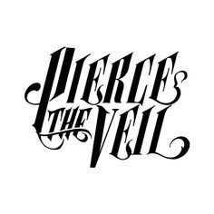 transparent pierce the veil logo! ❤ liked on Polyvore featuring bands