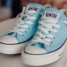 Women S Shoes With Memory Foam Refferal: 9434965850 Chuck Taylor Sneakers, All Star, Memory Foam, Light Blue, Shoes, Women, Pastel, Fashion, Moda