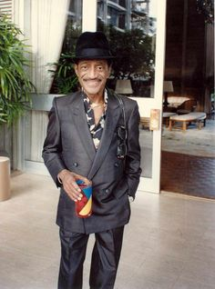 """Sammy Davis Jr. """"You can be in this business 50 years and still not know anything about it."""" . . . """"Part of show business is magic. You don't know how it happens."""""""