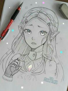 BOTW Zelda ! So cuuuuute