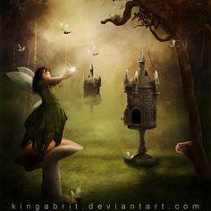 The Egg-stremist Fairy by KingaBritschgi.deviantart.com on @DeviantArt