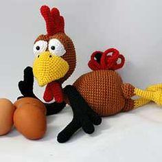 Poultry Paul amigurumi crochet pattern by IlDikko