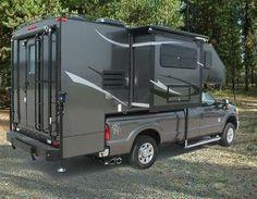 Survival camping tips Truck Bed Camper, Pickup Camper, Camper Van, Truck Tent, Cool Campers, Rv Campers, Camper Trailers, Camping Club, Truck Camping