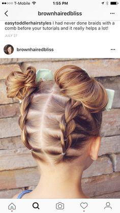 Pin By Yanet D On Little Girl Hair Pinterest Girl Hair Hair - Bun hairstyle games