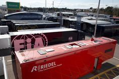 """First showdown at the """"Circuit de Barcelona-Catalunya""""! The Formula 1 test runs for the new season of the pinnacle of motorsport took place in Spain. #RIEDEL #F1 #GrandPrix"""