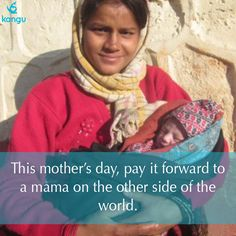 For mom, give something that can help other moms around the world. #MothersDay2015 #GiftInspiration