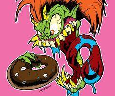 by luvataciousskull on DeviantArt Donuts, Rooster, Deviantart, Larry, Artwork, Artist, Anime, Random, Ideas